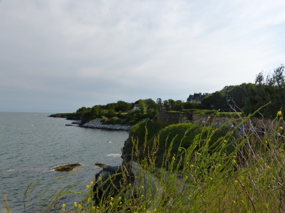 Clifftop walk in Newport RI