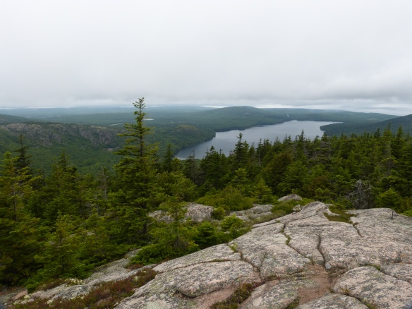views over Acadia