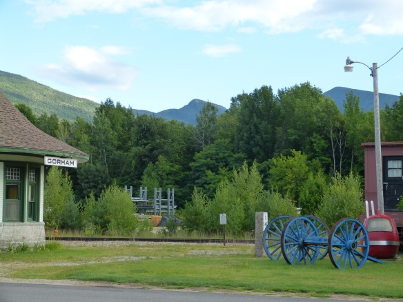 Gorham, with the Presidential range behind