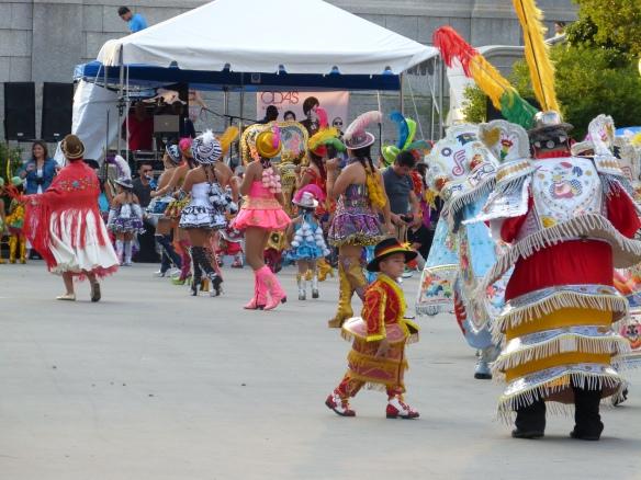 Bolivian dancing