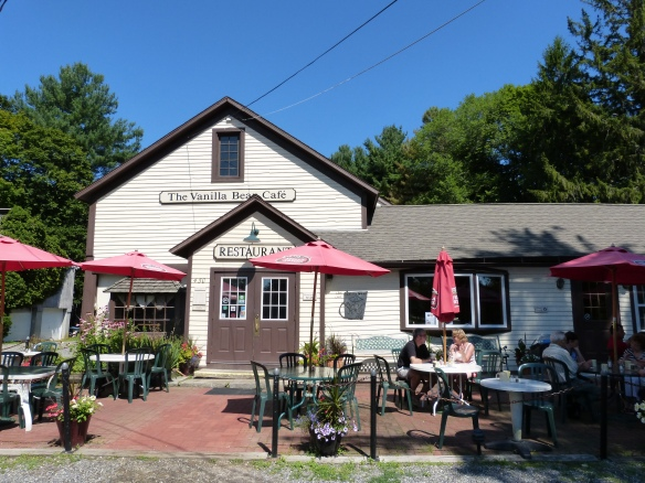 the Vanilla Bean Cafe, Pomfret CT
