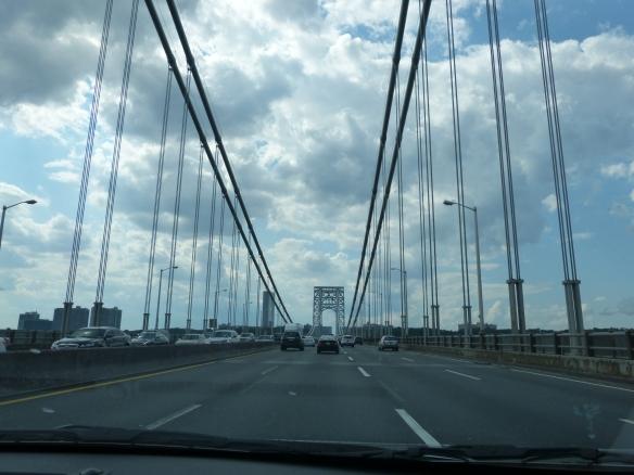 Over the G.W. Bridge, at last!
