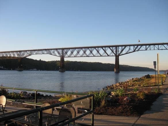Bridge from afar (the IceHouse bar)