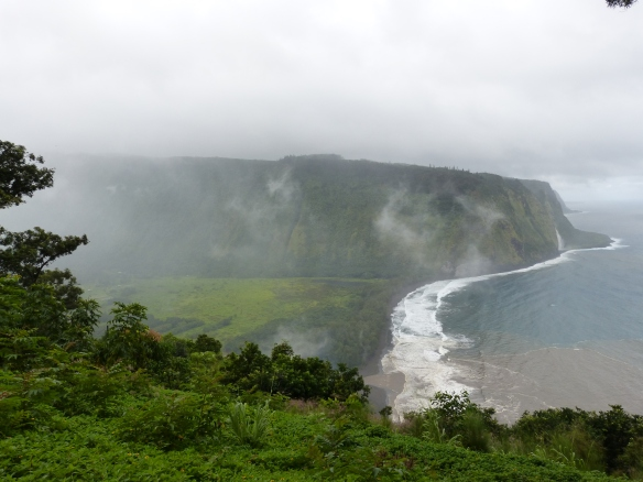 Waipio valley outlook