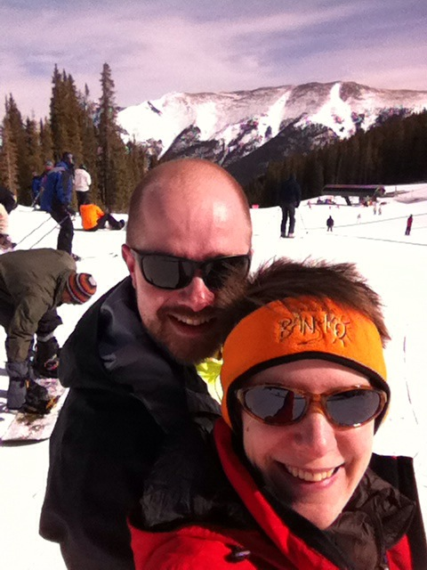 E and T on skis