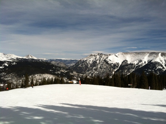 beautiful views from Copper Mountain